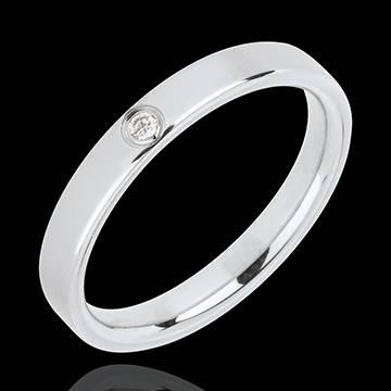 alliance or blanc diamant