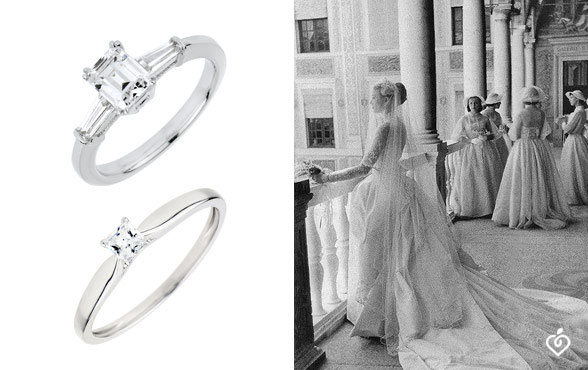 The most beautiful brides and their dream engagement rings.