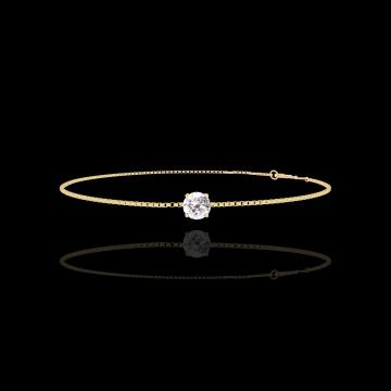 Armband Create 200005 Gelbgold 750/-(18Kt) - Diamant rund 0.3 Karat - Kette VENITIENNE