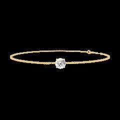 Bracciale Create 200005 Oro giallo 18 carati - Diamante rotondo 0.3 Carati - Catena VENITIENNE