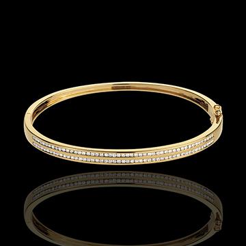 سوار اوريون ـ الذهب الأصفر عيار 18 قيراط