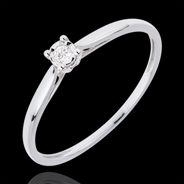 gifts woman Solitaire Ring Sprig
