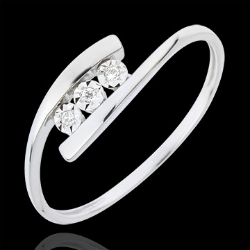 sell Precious Nest Ring - Trillusion - white gold - 18 carats