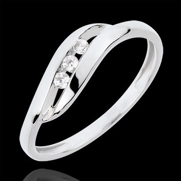 on-line buy Trilogy Ring Precious Nest - My Dear - white gold - 18 carats
