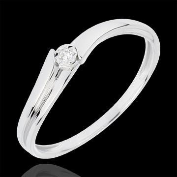 Geschenke Frau Solitär Ring Lucea