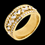 buy on line Ring Destiny - Empress - yellow gold diamonds - 0.85 carat