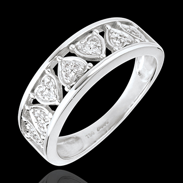 sales on line Ring Destiny - Clothilde - white gold