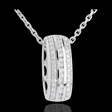 buy on line Wheel pendant diamonds - 0.27 carat