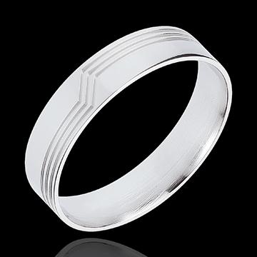 Geschenk Ring Wende aus Weissgold