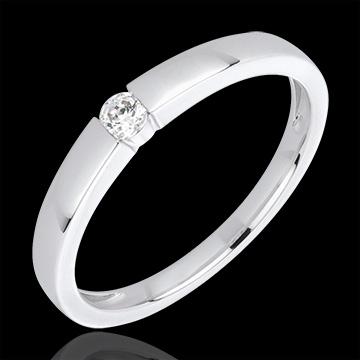 Online Kauf Diamantring Vera in Weißgold