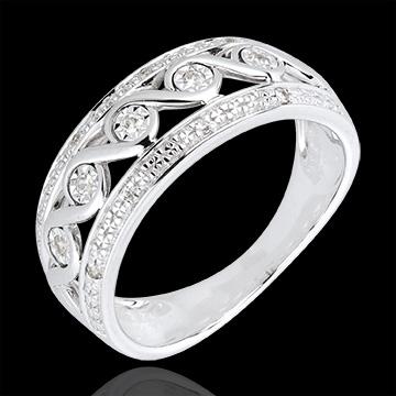 present White Gold and Diamond Diane Ring