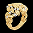 on line sell Ring Enchanted Garden - Precious Dew yellow gold