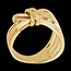 Ring Imaginary Walk - Camouflage - yellow gold