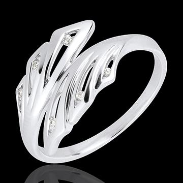 weddings Ring Freshness - Palms - white gold