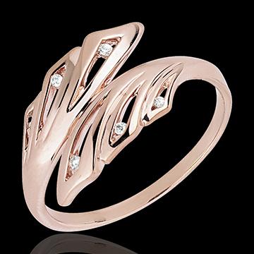 present Ring Freshness - Palms - rose gold