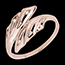 Ring Freshness - Palms - rose gold