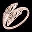 gift Ring Freshness - Palms - rose gold