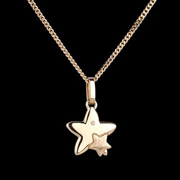 Geschenke Frau Sternenduett - Kleines Modell - Gelbgold