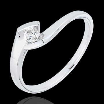 sell on line Solitaire Ring Summer Night - White gold