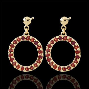 sell Roseline Garnet Earrings