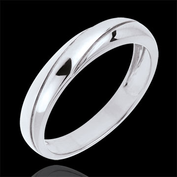 sell on line Saturn Trilogy Wedding Ring - White gold - 18 carat