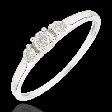 gifts women Trilogy Ring First Star