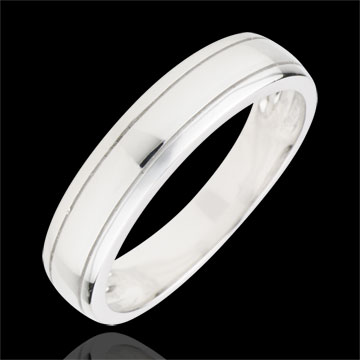 sales on line Wedding Ring Horizon - White gold