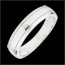 Wedding Ring Horizon - White gold