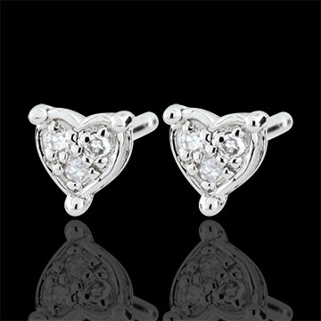 gold jewelry Romy Heart Earrings