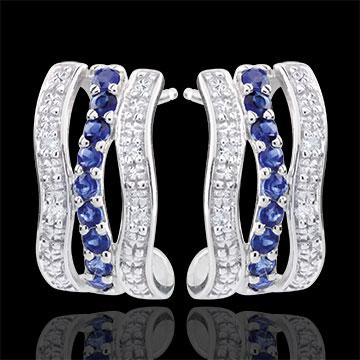 gifts women Undulating Creole Earrings