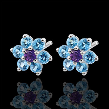 gift woman Snow Flower Earrings