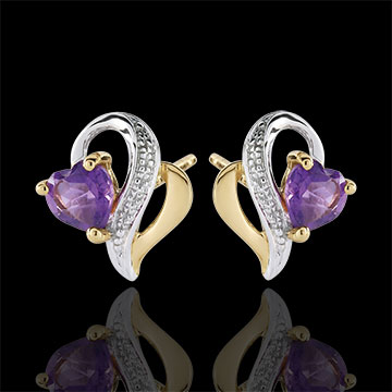 sell Ouaki Amethyst Earrings
