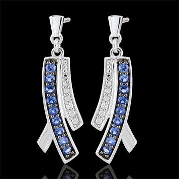 women Sapphire Blina Earrings