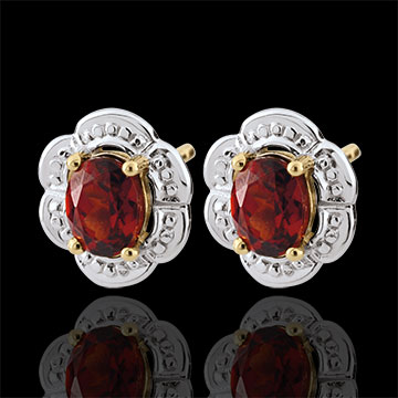 sales on line Daisy Lily Garnet Earrings
