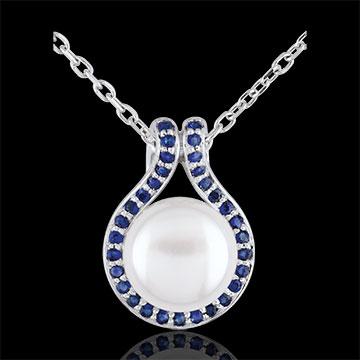 Juweliere Anhänger Adélie - Perlen und Saphire