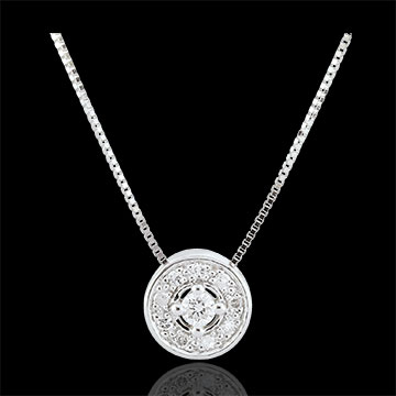Geschenk Frau Diamant Collier Ludmila