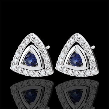 present Blue Sapphire Salma Earrings