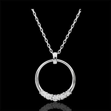 online kaufen Collier Eternita - 5 Diamanten
