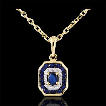 on-line buy Sapphire-studded Oriade Pendant