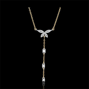 gift women Bi-colour Diaphanous Necklace
