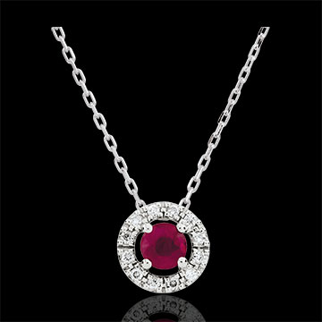 gifts woman Clévia Ruby Necklace
