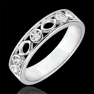 sell on line Apolyne Wedding Band with 3 Diamonds
