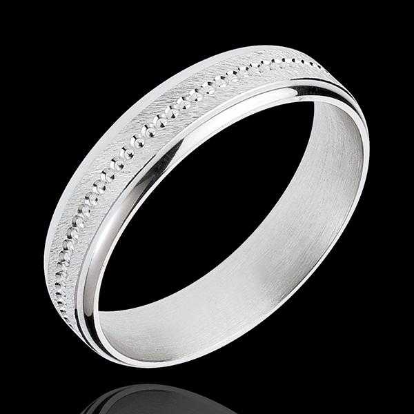 Alliance Archi or blanc 18 carats