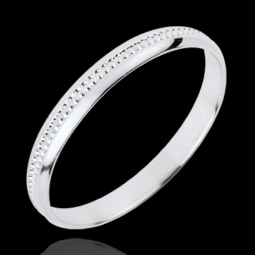 Alliance Doux Equilibre - or blanc 18 carats