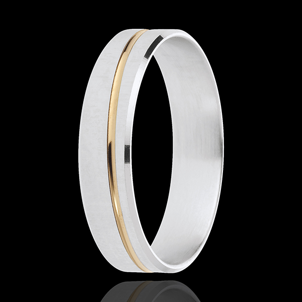 Alliance Félix - or blanc et or jaune 18 carats