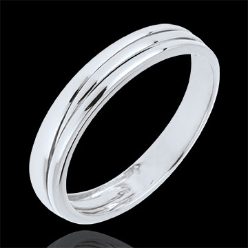 Alliance Triya or blanc 9 carats