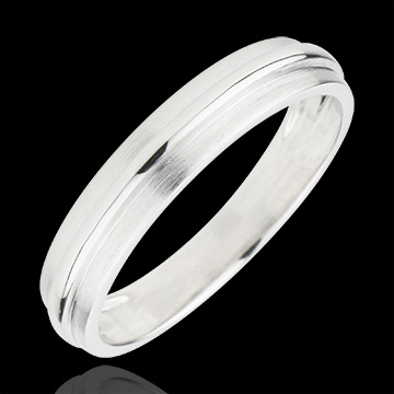 Alliance Hélios or blanc 9 carats