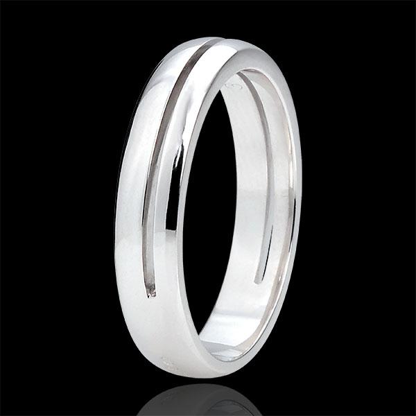 Alliance Olympia - Petit modèle - or blanc 18 carats