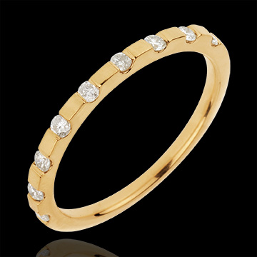 Alliance Oriane - or jaune 18 carats