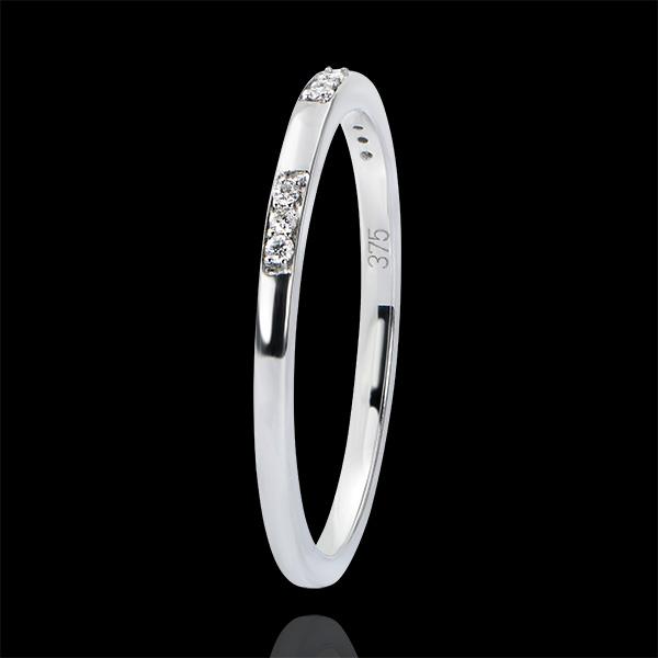 Alliance Origine - Demoiselle - or blanc 18 carats et diamants